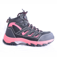 Comfortable Women Leather Safety Shoes