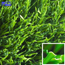 Very good quality monofilament artificial grass shaped S for football/playground/Synthetic turf
