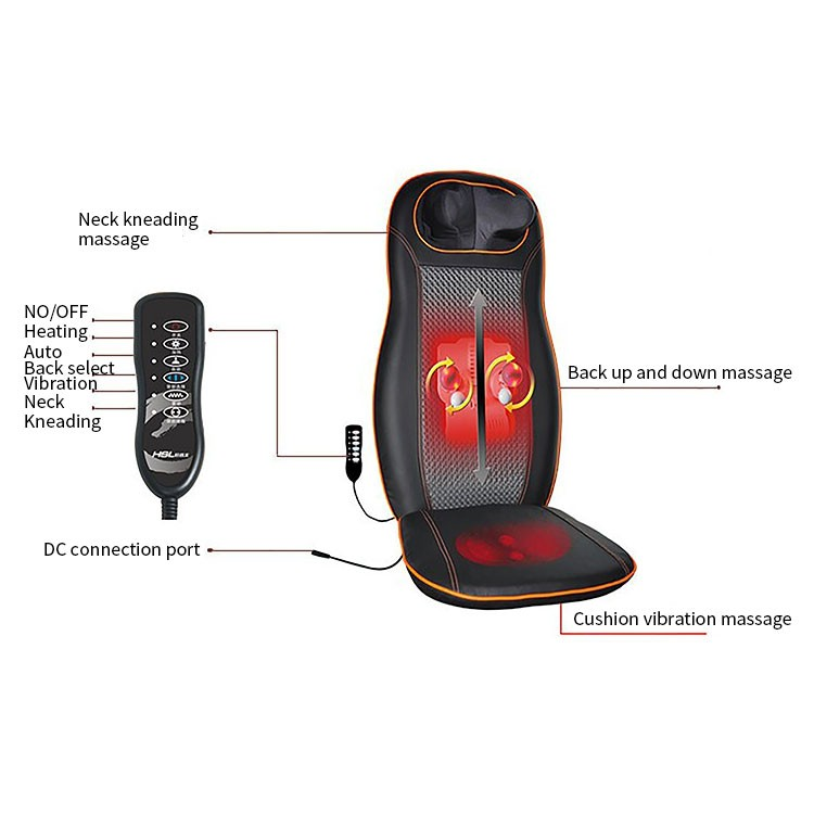 Wholesale China Merchandise Shiatsu electric back Massage Mat