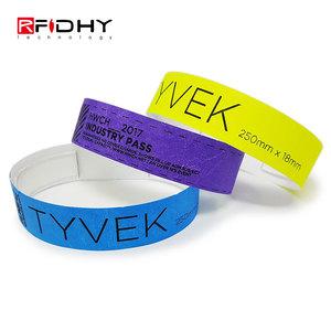 13.56MHz MIFARE 1K Wristband Eco Friendly RFID PP Band