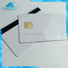 Jcop 21 36k with new model J2A040 Java Smart Card with 2 track magnetic stripe 8.4MM