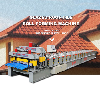 Best light weight Roofing Sheet roll forming machine