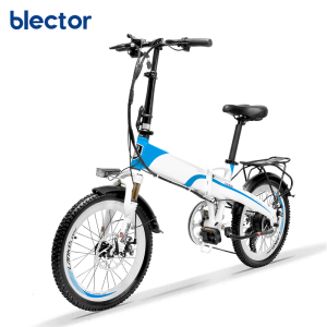 48V light folding electric bicycle smart ebike Pure electric and Pedal assist cycling