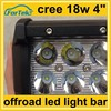 offroad 4 inch led light bar 18w cree for auto fog lamp