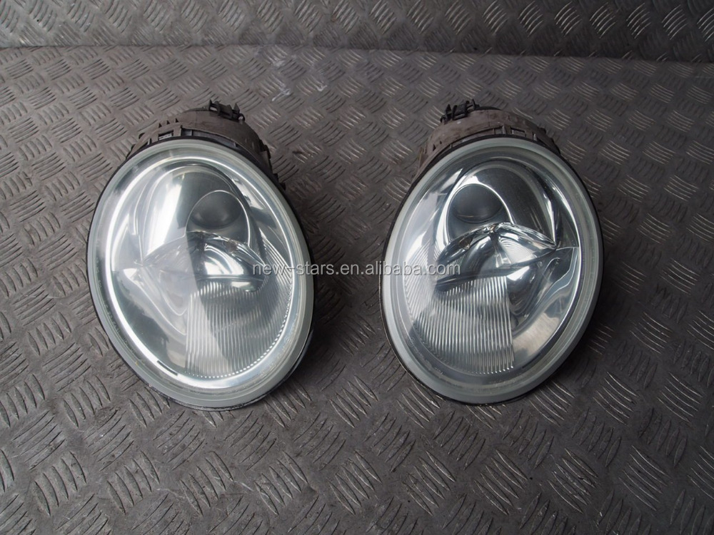 USED Projector Front Headlights Lights OEM for 98-03 VW BEETLE