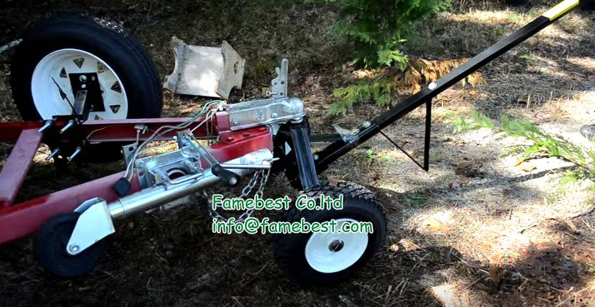 New 275kg utility trailer rv camper boat hand dolly for Outboard motor dolly harbor freight