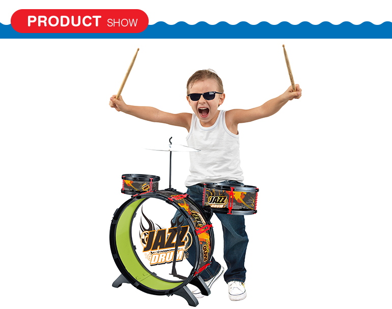 hot sale educational toy instrument music children drum set with game function