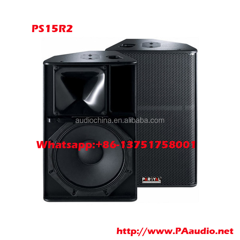 paroyal new design professional Speaker PS15R2 15inch as line array pa audio china
