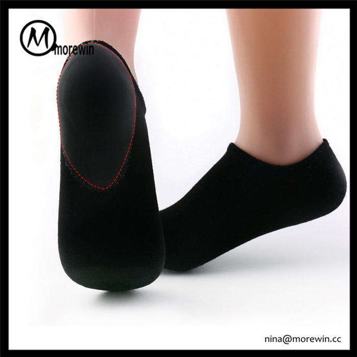 Morewin Personal Feet Care Spa Moisturizing Gel Heel Socks for Dry Hard Cracked Skin Comfortable Fit
