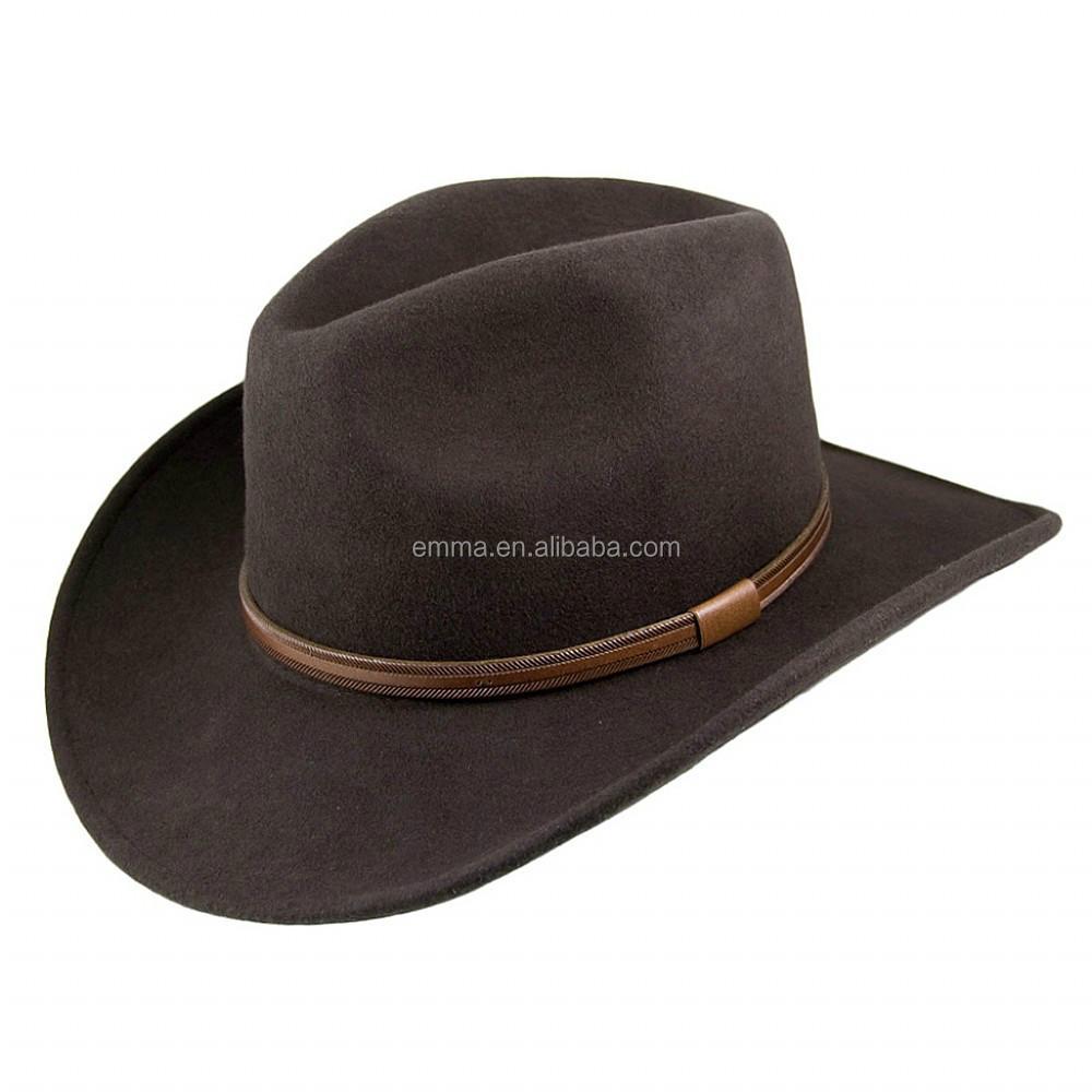 Top new lemmy cowboy hat fashion design folding cowboy hat wholesale HT2789 406d8d022472