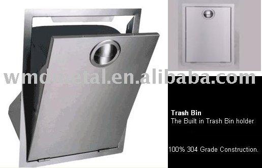 Gpx 901 Built In Trash Bin Rubbish Can Garbage Barrel