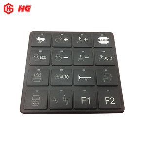 OEM Welcomed Custom Made Silicone Button Rubber Keypad Keyboard