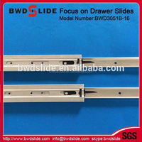 Full Extension Under Mount Drawer Slide With Soft Closing, (with CL plastic clips for slide)