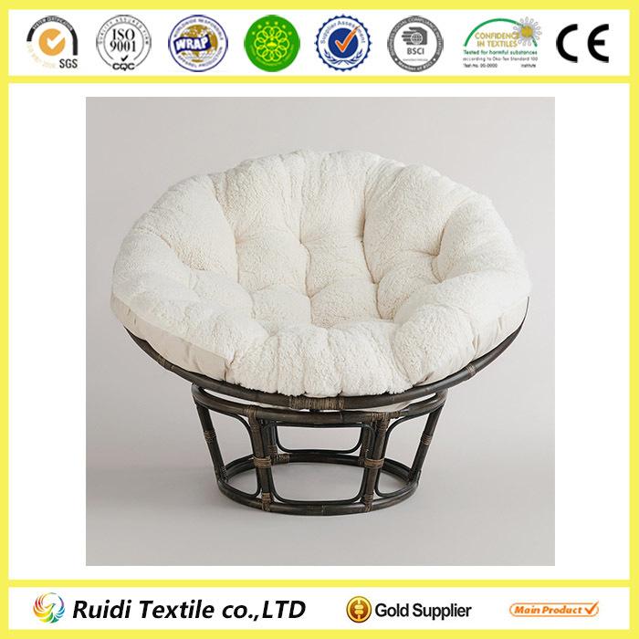 Plain Color Papasan Chair Cushion Round Wicker Chair Cushions