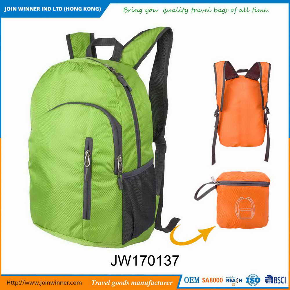 Nature And Soft Customize Fesshional Backpacks Good Quality