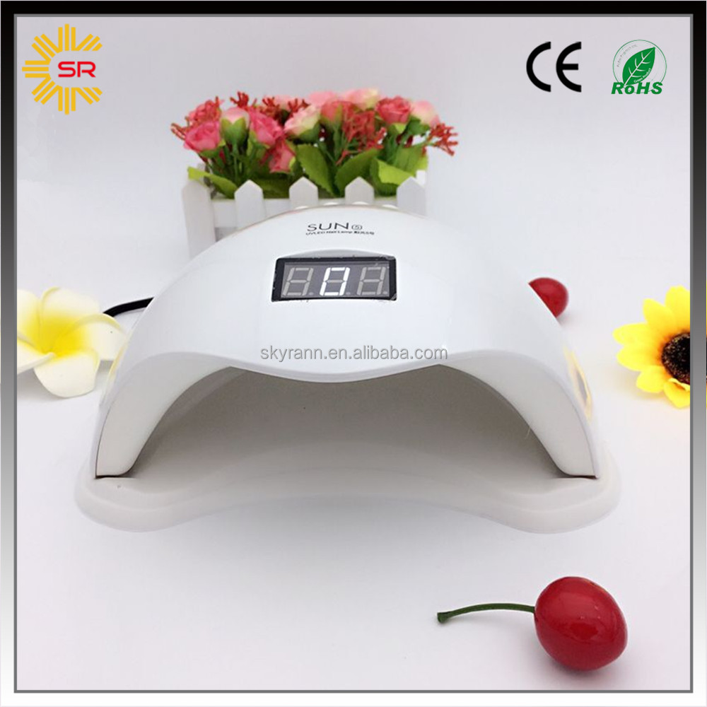Big size competitive price sun ccfl uv led lamp nails with LCD timer display