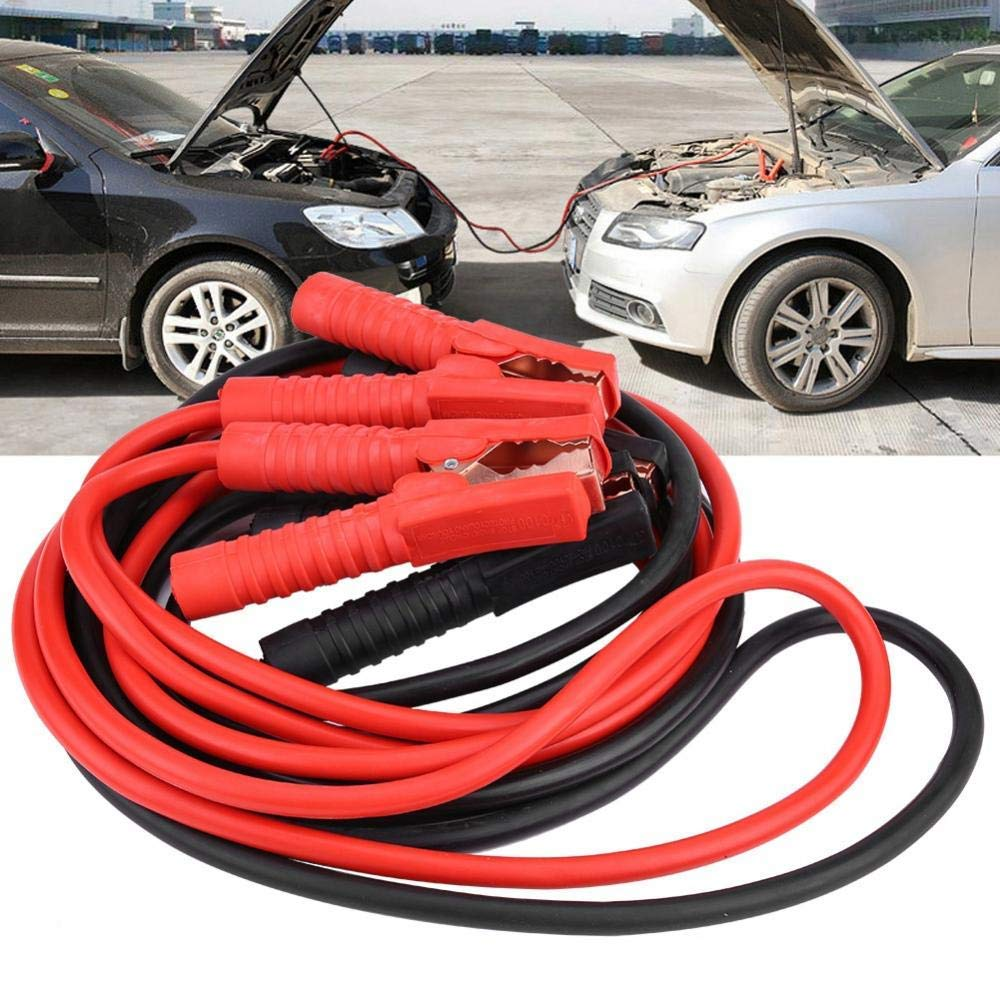 Heavy Duty 1000A Power Booster Cable Twin Wires Car Battery Jumper Wiring Kit