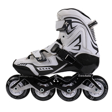 New Style Profissional roller derby de freestyle 4 velocidade <span class=keywords><strong>patins</strong></span> inline <span class=keywords><strong>rodas</strong></span> de carbono