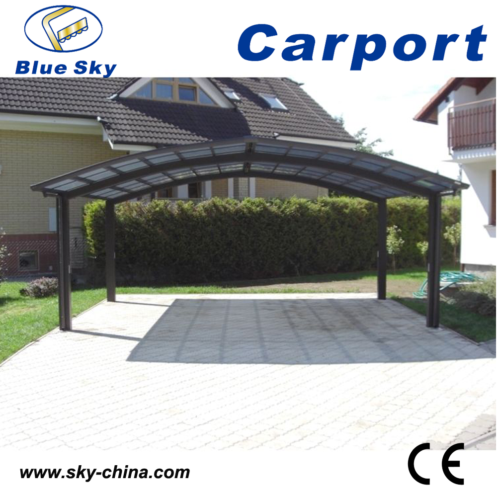 2 car metal carport aluminum carport curved carport buy. Black Bedroom Furniture Sets. Home Design Ideas