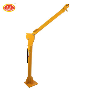 portable hand mini hydraulic cargo pick up truck lifting crane italy korea