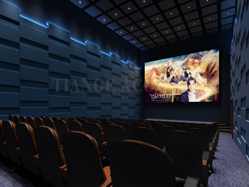 Cinema interior design fabric acoustic wall panel material buy fabric acoustic panels cinema - Home cinema decorating ideas design ...