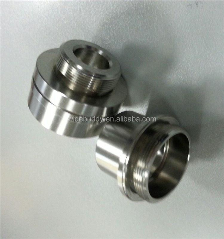 Anodized Aluminum Automotive Parts : High precision cnc lathe machining turning milling and