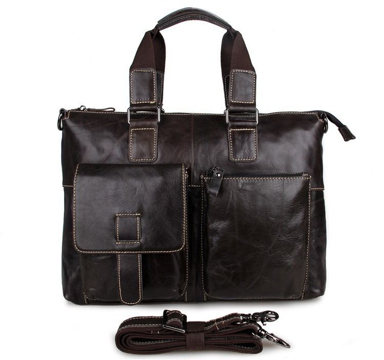 Get Quotations · Factory Pirce Free Shipping Genuine Leather Unisex  Versatile Handbags Shoulder Bag   7264J beb44b2f096df