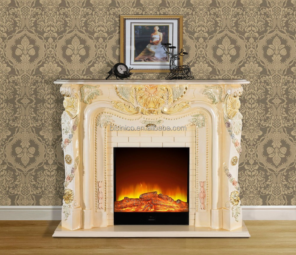 Franse stijl europese klassieke houten decoratieve elektrische ...