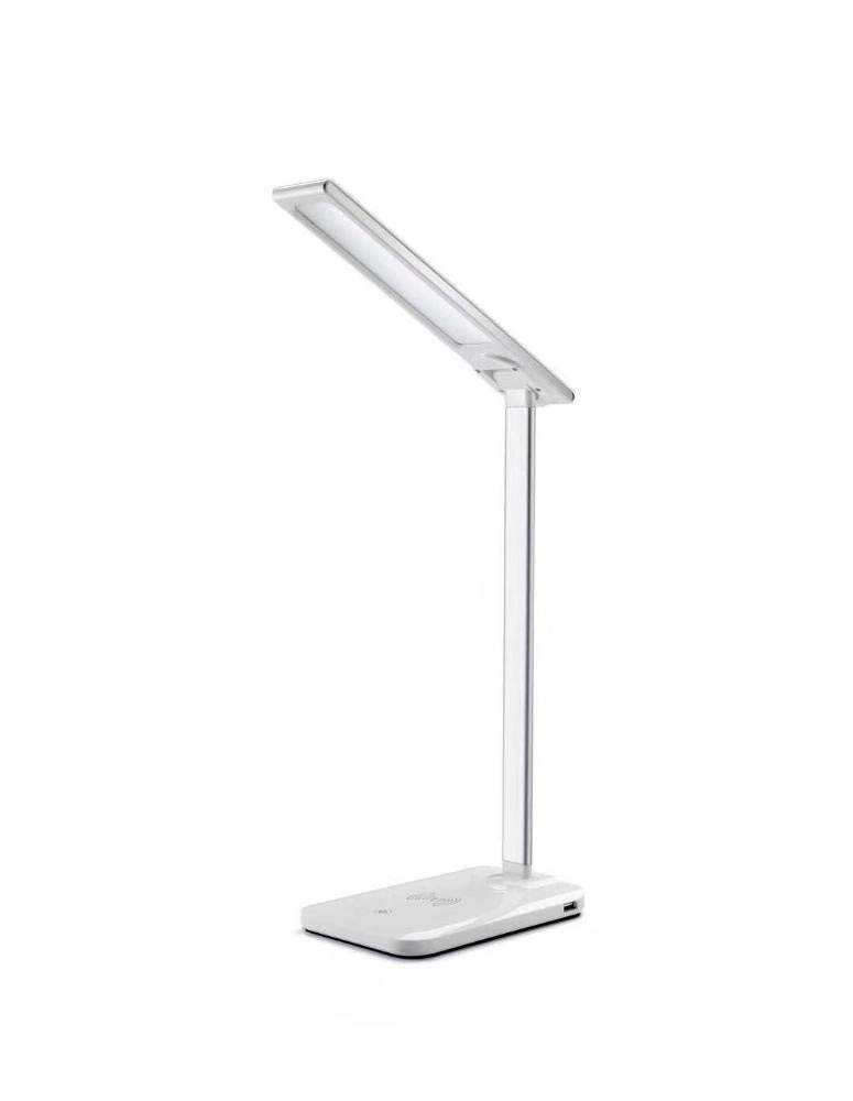 WEIWEI Reading lamp bedside lamp table lamp led eye lamp student reading mobile phone wireless charging lamp