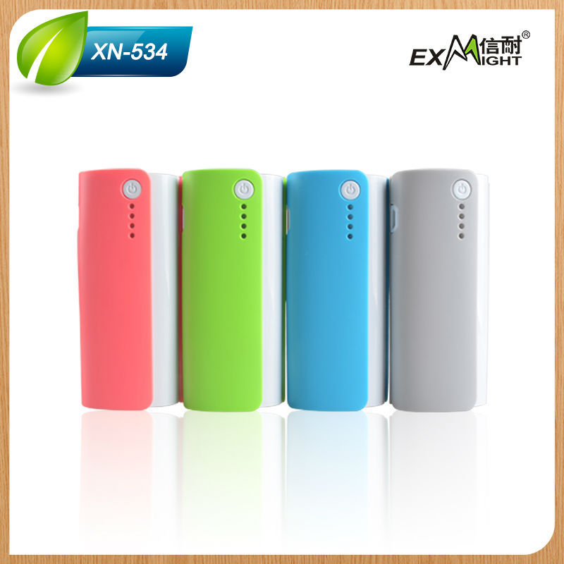 Top Quality Led Torch Light Portable Power Bank 5200MAH Manufacturer