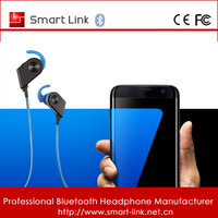 High quality mini stereo wireless sport earbuds bluetooth headphone for samsung galaxy s7