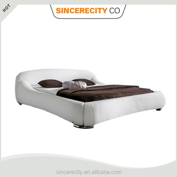 Modern Bedroom Furniture,Italian Design Pu White Leather Bed Upholstered  Bed - Buy Modern Italian White Bedroom Furniture,Modern Italian White  Bedroom ...