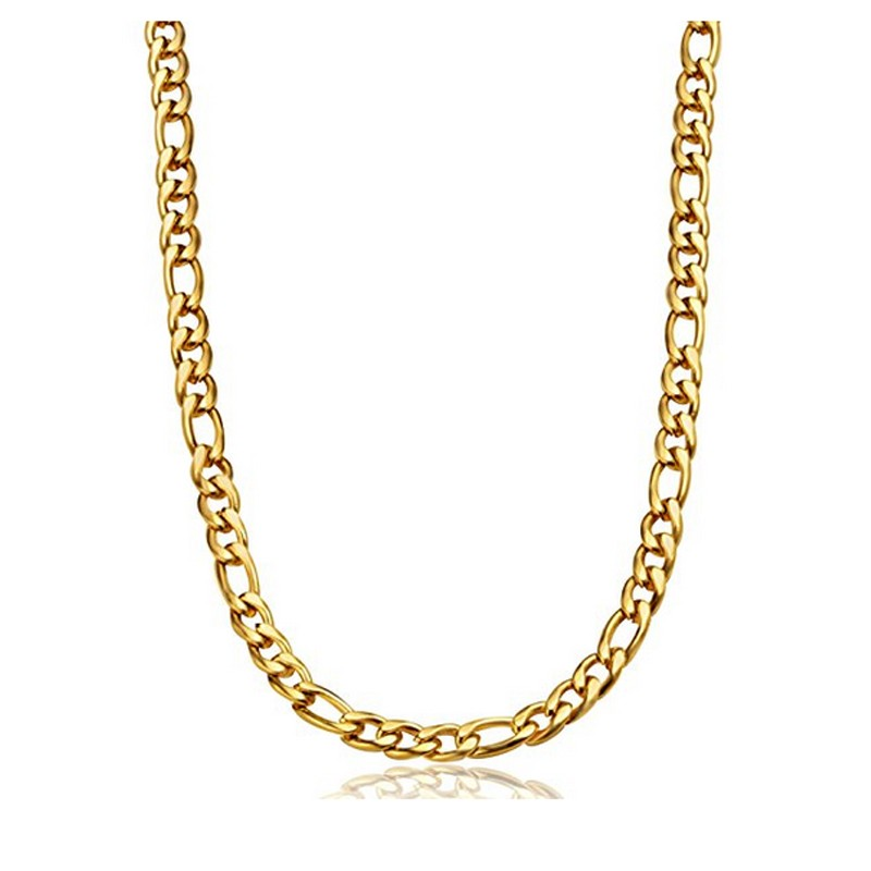 New Design 925 Silver Side Gold Plated Necklace Chain For Men ...