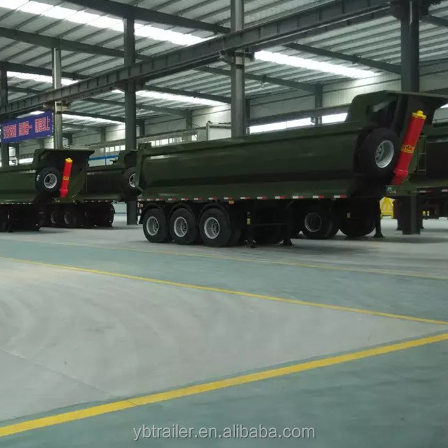 3 axles high quality heavy duty cargo transport semi truck trailer