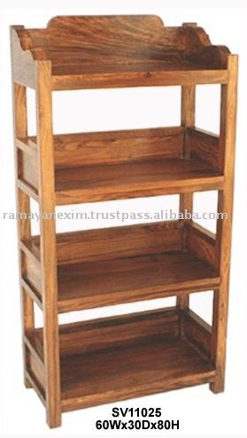 Muebles de oficina de madera estante para libros for Libros de muebles de madera
