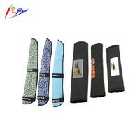 Car seat belt shoulder pad neoprene comfortable driving auto strap harness cover safety seat belt sleeve