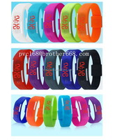 brand new Fashion Sports Silicone Bracelet Digital Touch LED Watch