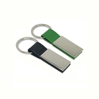 Custom Promotion Car Metal leather Key Ring Chain Supplier