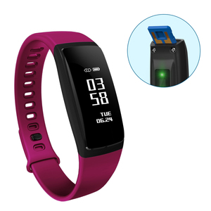 waterproof Calorie tpu touch wireless activity fitness smart wristband step counter