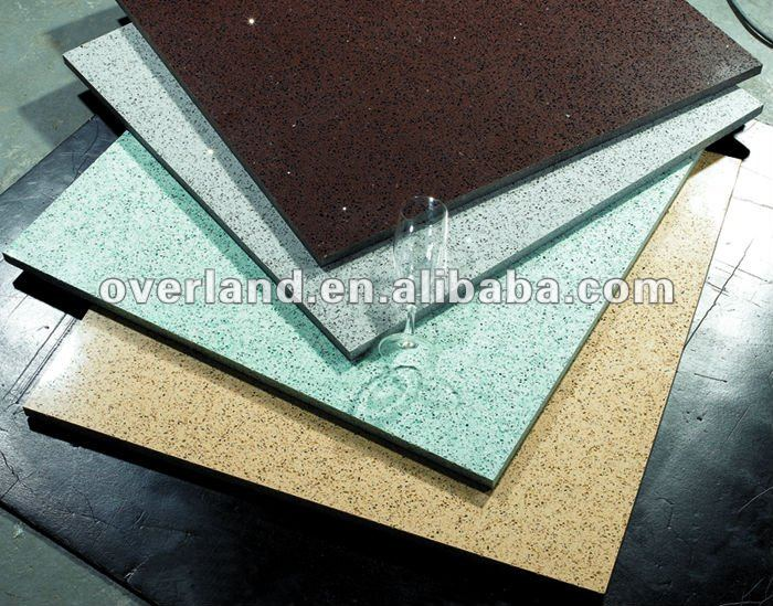 Compressed Artificial marble quartz tile