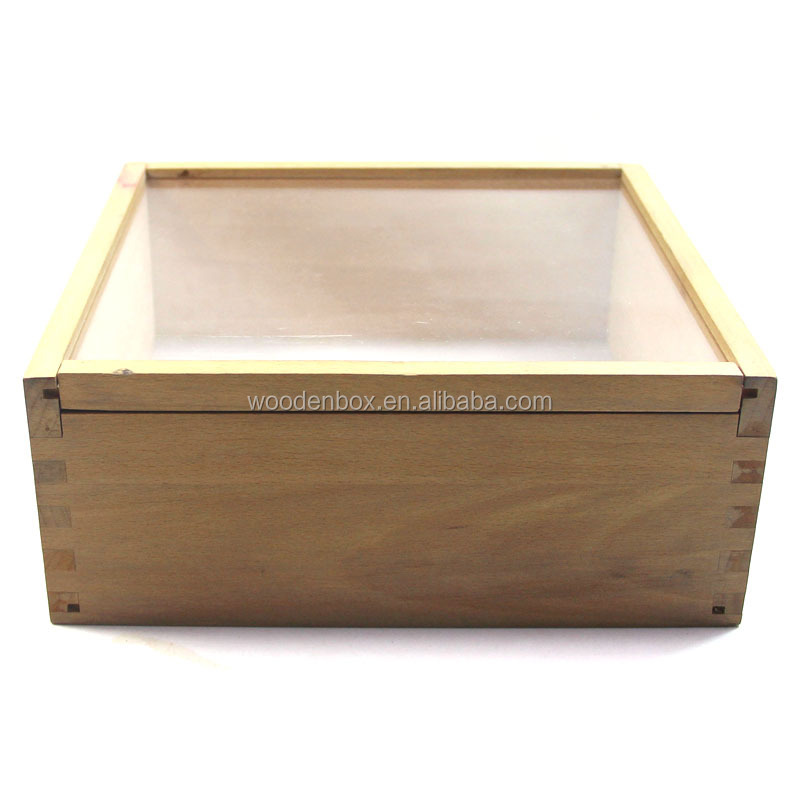Hot Sale Jewelry Gift Wooden Display Box With Transparent Lid Buy Jewelry Gift Wooden Boxes With Transparent Lidpine Wood Gift Boxempty Gift Boxes