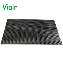 2018 Best selling High quality Black Beige Grey small hole Anti slip rubber mat