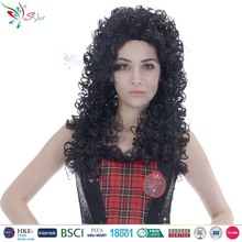 Styler Brand fashion black curly wig synthetic hair fiber long braided wigs for black women