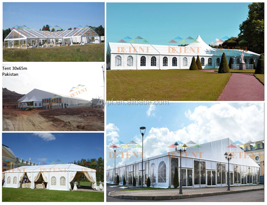 High Quality Clear Span Big Tent For Wedding Hall Church