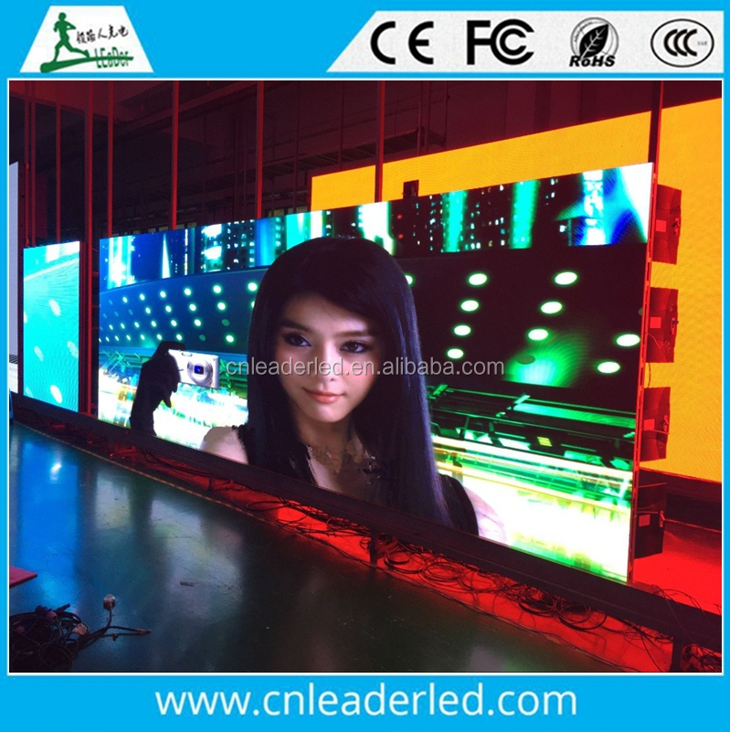 Full Color Tube Chip and Video Display Function P5 Indoor /outdoor LED Video Wall