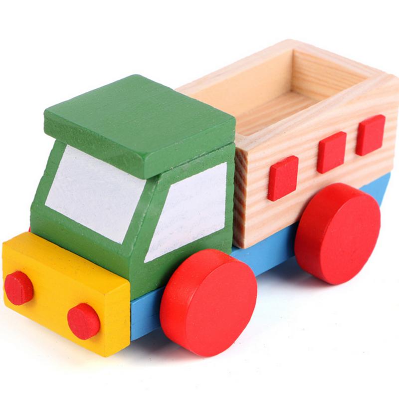 explorador temprano de madera montaje de juguetes para nios de automviles