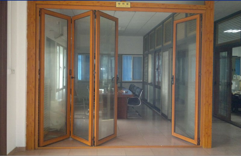Heavy Duty Aluminum Bi Fold Doors Factory In Guangzhou - Buy Bi Fold ...