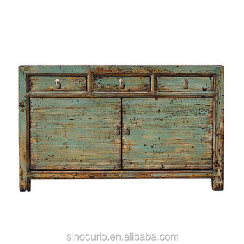 Antique Chinese Style Furniture Sideboard Cabinet
