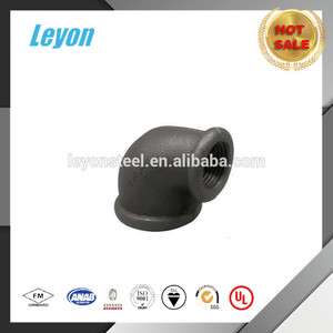 Malleable Iron Pipe Fittings 60 Degree male threaded elbow