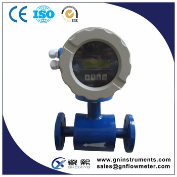 Full Bore Electromagnetic Type Flow Meter Measurement